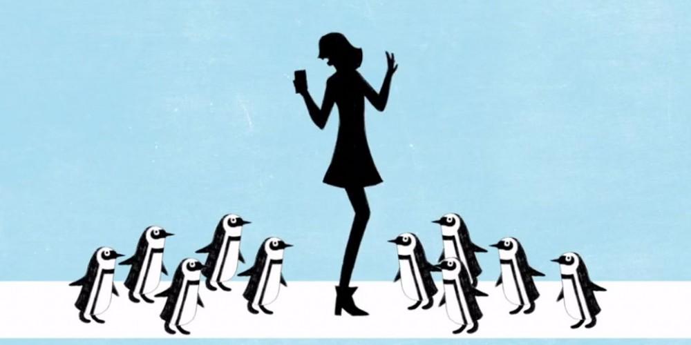Suivez le pingouin!